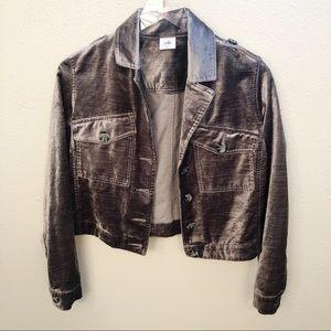CAbi Sunday Topper Velvet Jacket 3377 Sz XS
